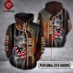 Personalized Heeler 3D printed hoodie AGC