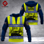 LMT NYPD SAFETY VEST USA 3D HOODIE