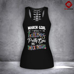 MH MARCH GIRL WITH TATTOOS COMBO TANK + LEGGING
