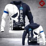 SLMPD Sheepdog 3D printed hoodie TOST