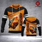 QT Rooster - 3d printed hoodie ROS