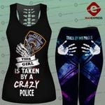 Wife NYPD police COMBO TANK + LEGGING LMT