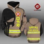 MH DALLAS FIRE-RESCUE DEPARTMENT HOODIE PRINTED