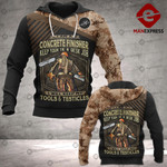 CONCRETE FINISHER LMT 3D HOODIE NV0502