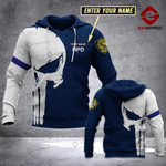 Personalized HPD Sheepdog 3D printed hoodie GJA