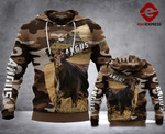 LKH ANGUS CATTLE 3D ALL OVER PRINTED HOODIE