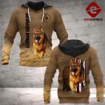 LKH German Shepherd 3D Hoodie Print