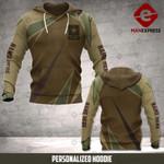 Personalized Warriors CVA 3D printed hoodie ARMW