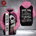 Iowa Girl 3D printed hoodie FKZ