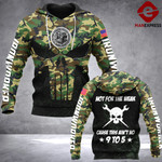 LKH 9 TO 5 IRONWORKER CAMO HOODIE 3D OVER PRINT