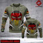 PNS Soldier DE Camo 3d Printed HOODIE TT
