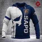 SAPD Sheepdog 3D printed hoodie GJA