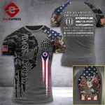 Ohio 3% Patriot  Tshirt 3d - All Over Print ARQ308