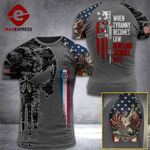 Missouri 3% Patriot When Tyranny Becomes Law Rebellion Becomes Duty Tshirt 3d - All Over Print ART308