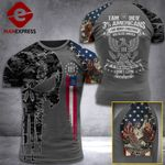 Georgia 3% Patriot We The People Tshirt 3d - All Over Print ART408