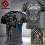 Louisiana 3% Patriot We The People Tshirt 3d - All Over Print ART408