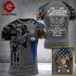 Virginia 3% Patriot We The People Tshirt 3d - All Over Print ART408