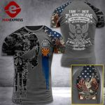 Arizona 3% Patriot We The People Tshirt 3d - All Over Print ART408