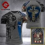 South Carolina 3% Patriot One Nation Under God Tshirt 3d - All Over Print ARA408