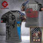 Oklahoma 3% Patriot  Tshirt 3d - All Over Print ARD408