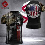 Alabama 3% Patriot Fearful Men Tshirt 3d - All Over Print ARQ408
