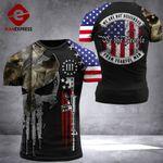 US 3% Patriot Fearful Men Tshirt 3d - All Over Print ARQ408