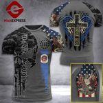 Minesota 3% Patriot One Nation Under God Tshirt 3d - All Over Print ARA608