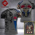 Missouri 3% Patriot One Nation Under God Tshirt 3d - All Over Print ARA608
