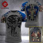 Michigan 3% Patriot One Nation Under God V2 Tshirt 3d - All Over Print ARA608
