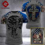 North Dakota 3% Patriot One Nation Under God V2 Tshirt 3d - All Over Print ARA608