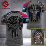 Wyoming 3% Patriot One Nation Under God V2 Tshirt 3d - All Over Print ARA608