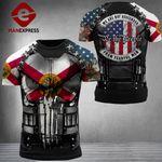 Florida 3% Patriot Fearful Men Tshirt 3d - All Over Print ARD608