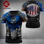 Michigan 3% Patriot Fearful Men Tshirt 3d - All Over Print ARD608