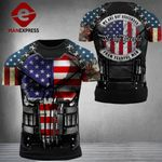 US 3% Patriot Fearful Men Tshirt 3d - All Over Print ARD608
