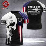 American 3% Patriot Tshirt 3D - All Over Print LN088