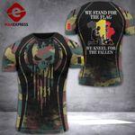 Belgium Soldier Tshirt 3D - All Over Print DT088