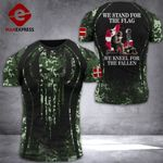 Denmark Soldier Tshirt 3D - All Over Print DT088