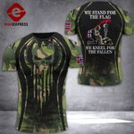 Norway Soldier Tshirt 3D - All Over Print DT088