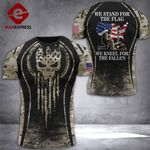 Us Soldier Tshirt 3D - All Over Print DT088
