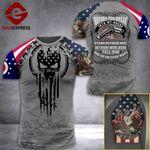 MH Ohio Three Percenter Tshirt 3D - All Over Print MD088