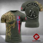 AH Norway Soldier Tshirt 3D - All Over Print MA108