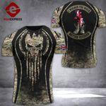 AH British Veterans Tshirt 3D - All Over Print DT108