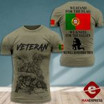 MH Portugal Veterans Tshirt 3D - All Over Print MD118
