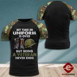MH German Veterans Tshirt 3D - All Over Print MQ118