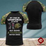 MH Norway Veterans Tshirt 3D - All Over Print MQ118
