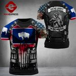 Wyoming 3% Patriot Give Me Liberty Tshirt 3d - All Over Print ARQ1008