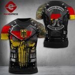Germany Veteran Combat Tshirt 3d - All Over Print ART1008