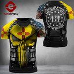 New Mexico Patriot Combat Tshirt 3d - All Over Print ARD1108