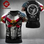 Florida Patriot Not Be Rulled Combat Tshirt 3d - All Over Print ARQ1108