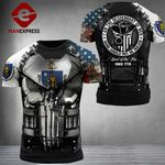 Massachusetts Patriot Not Be Rulled Combat Tshirt 3d - All Over Print ARQ1108